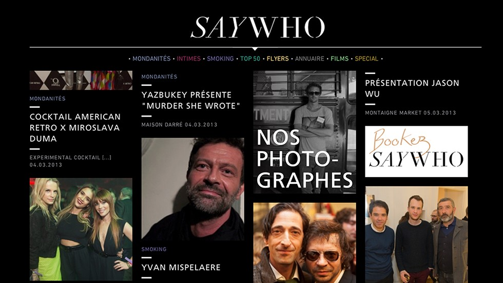 Saywho